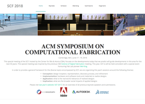 Zahner R&D at Symposium on Computational Fabrication