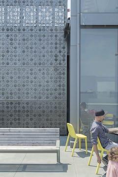 Photo of the Plankton Wall at the Exploratorium.