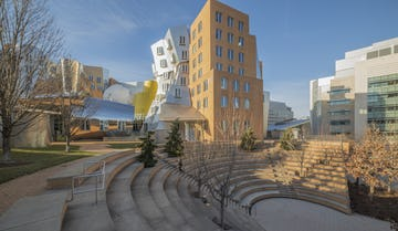 Stata Center at MIT in Cambridge, Massachusetts