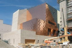 El Paso Federal Courthouse during construction.