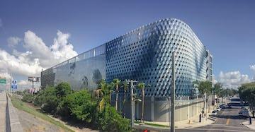 IwamotoScott Facade for the Miami Design District City View Garage.