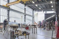 Zahner fabricators build out the ZEPPS assemblies for Petersen.