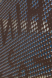 Solanum Steel perforated metal imagery.