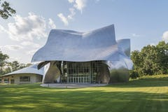 The Richard B. Fisher Center Performing Arts Center at Bard College.