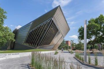 The Eli & Edythe Broad Museum.