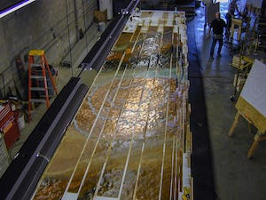 Fabrication at Zahner HQ for the National Museum of the American Indian in Washington D.C.