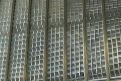 Rectangular louvered perforations provide enhanced light control