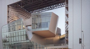Emerson College LA designed by Morphosis with Zahner-manufactured forms.