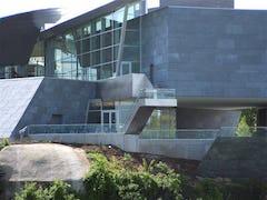 Hunter museum zinc