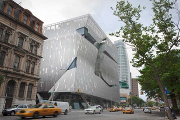 Cooper Union New Academic Building in Manhattan.