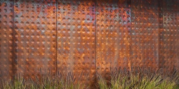 Dirty penny wall
