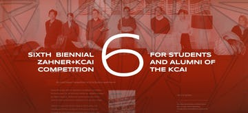 Zahner announces 6th Biennial Competition