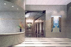 Interior Lobby of 120 N. LaSalle