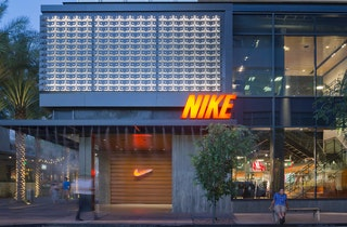 Nike storefront zahner