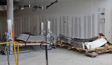 Two ZEPPS assemblies await installation.