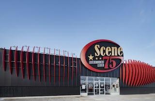 Scene 75 facade entrance in Milford, Ohio.