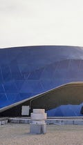 Roof of the MOSI Dome in Tampa — Dual Curvatures.