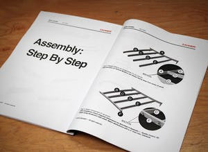 Photograph of the paper version of the Export ZEPPS™ Manual for Sidra.