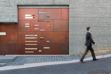 Front gates of the Daeyang Gallery and House.