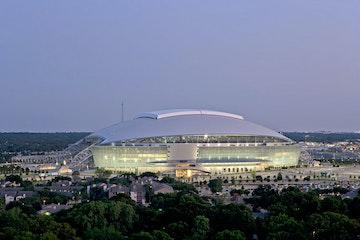 Cowboys stadium external